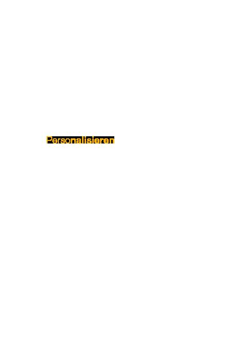 MBM - Personalisieren Gelb